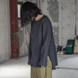 sus-sous / Sleeping Shirts (Charcoal Navy)