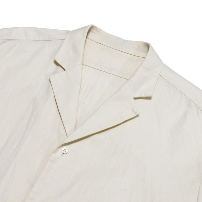 un/unbient / Zak Cotton Tailored Collar Shirt