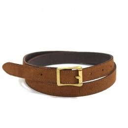Honor gathering / England Dressy Suede Narrow Belt