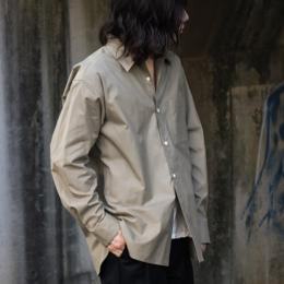 WIRROW / Regular Collar Boxi Shirt