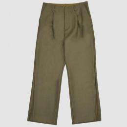 AURALEE / Light Melton Wide Slacks