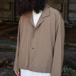 YOKE / Wide Short Jacket (Beige)