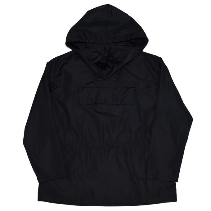 AURALEE / Polyester Silk High Count Cloth Pullover Hoodie