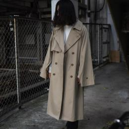stein / Lay Oversized Overlap Coat
