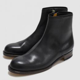 forme / Calf Leather Side Zip Boots