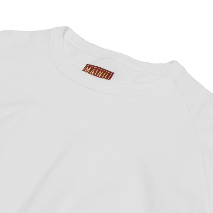 MAINU / Emergency Crew Neck (White)