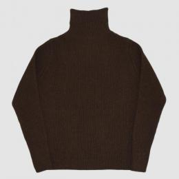 ANDERSEN-ANDERSEN / THE NAVY Turtle Neck 5GG (Natural Brown)