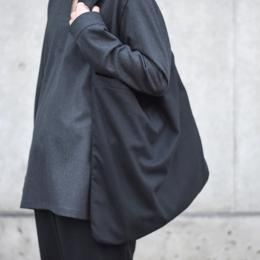 MASTER&Co. / Flannel Shoulder Bag (Black)