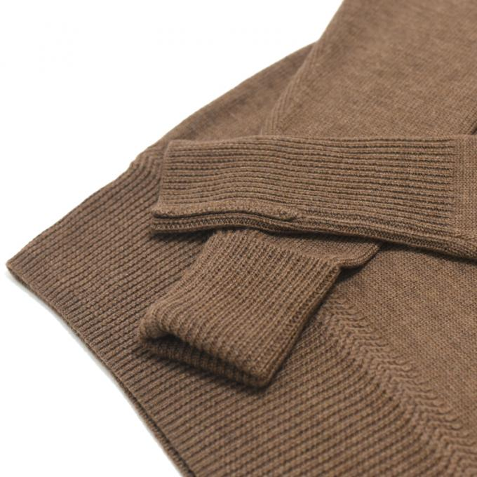 Honor gathering / Turtle Neck Fisherman Knit