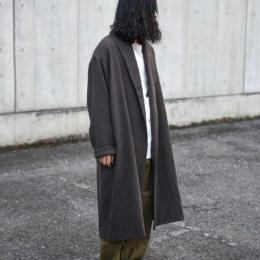 WIRROW / Soft Wool Robe Coat