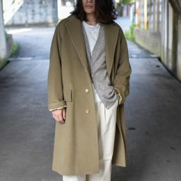 AURALEE / Cashmere Wool Mosser Chesterfield Coat