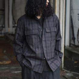 Riprap / Semi Open Collar Shirts L/S