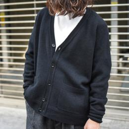【SALE】Phlannel / Shetland Wool V-neck Cardigan