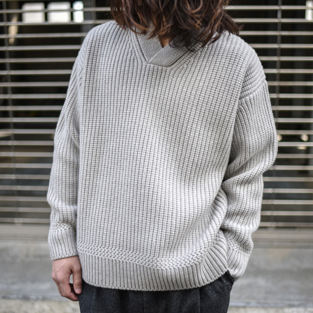 【SALE】Phlannel / Cashmere Wool US Military Sweater