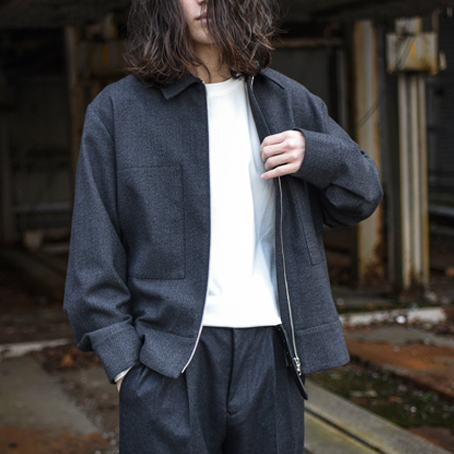 STUDIO NICHOLSON / Thornproof Fifties Blouson